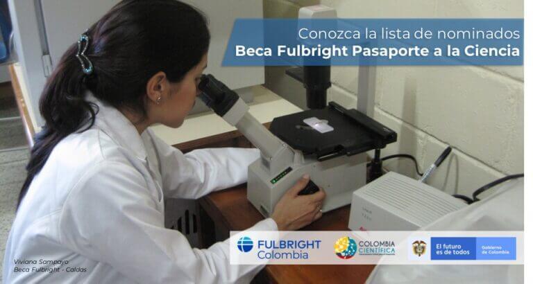 Nominados Beca Pasaporte 2019